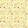 Royalty-Free Stock Vector Image: Floral seamless wallpaper, pattern