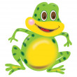 Frog illustration — Stock Photo #8024475