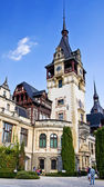 Замок Пелеш. Трансильвания, Румыния. / Peleș Castle. Transylvania, Romania. — Stock Photo