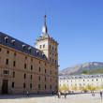 The Royal Seat of San Lorenzo de El Escorial — Stock Photo #8415411