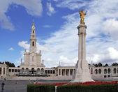 Sanctuary of Our Lady of Fatima. Fatima, Portugal. — Stock Photo