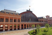 Madrid Atocha railway station. Spain. — Stock Photo