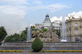 The fountain of Cibeles. Madrid, Spain — Stock Photo