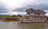 Boat of Purity and Ease (Marble Boat). Summer Palace, Beijing, China. — Stock Photo
