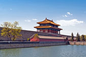 The Gate of Divine Might, the northern gate of Forbidden City — Stock fotografie