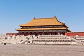 The Hall of Supreme Harmony, Forbidden City. Beijing, China. — Stock Photo