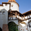 Stock Photo: Courtyard of Br(Dracula) Castle. Transylvania, Romania.