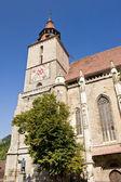 Biserica Neagra or Black Church. Brasov, Romania — Stock fotografie