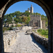 Stock Photo: View from gate to Tsarevets of Veliko Tarnovo, Bulgaria