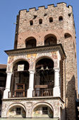 Campanile del monasterio de san ivan de rila, bulgaria — Foto de Stock