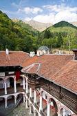 Courtyard saint ivan rila, bulgaristan, manastır — Stok fotoğraf