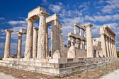 The Temple of Aphaea. Aegina, Greece — Stock Photo