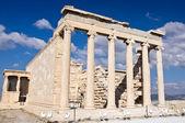 Erechtheion. Acropolis of Atheens, Greece — Stock Photo