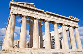 Parthenon, Acropolis of Atheens, Greece — Stock Photo