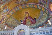 Interno interno di Sant'Andrea di Patrasso. Patrasso, Grecia — Foto Stock