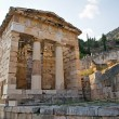 Treasury of Athens, Delphi, Greece — Stock Photo