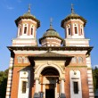 Stock Photo: Great Church at SinaiMonastery, Romania
