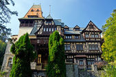 Pelișor Castle. Sinaia, Romania. — Stock Photo