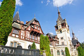 Peles Castle. Sinaia, Romania. — Stock Photo