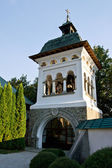 The Bell Tower at the Sinaia Monastery, Romania — Foto de Stock