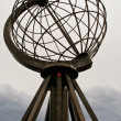 North Cape Globe Monument. Norway. — Stock Photo