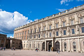 Royal palace in Stockholm, Sweden. — Stock Photo