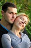 Красивая молодая пара — Foto de Stock