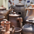 Stock Photo: Clay Jugs
