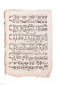 Old Sheet Music — Stock Photo
