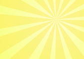 Yellow background with rays — Stock Photo