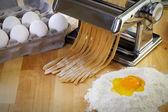 Making Delicious Pasta — Stock Photo