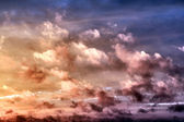 Сolorful clouds — Stockfoto