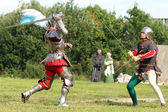 Medieval tournament — Stock Photo