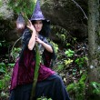 Forest witch - Stock Photo