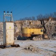 Excavator and transformer vault — Stock Photo #8105652
