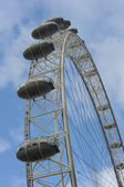 "Ferris Wheel ""London Eye"" — Foto Stock"