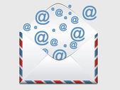 E-mail Message — Stock Photo