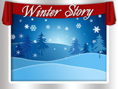 Winter Story — Stock Photo