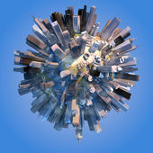 City Earth — Stock Photo