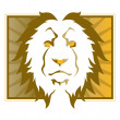 Royalty-Free Stock Vector Image: Lion head