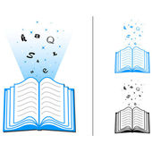 Open Book — Stock Vector