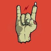 Rock is not dead — Stock Vector