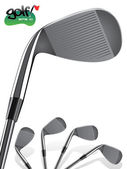 Golf Club/Close up, realistic Iron Illustration — Stock Vector