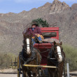 Stagecoach front in Tucson — Stock Photo #8184845