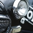 Fragment retro car — Stock Photo