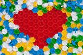 Mosaic heart — Stock Photo