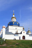 Abalaksky Piously-Znamensky man's monastery. Village Abalak of t — Stock Photo