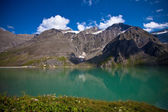 The idyllic lake in High Tauern National Park. — Stock Photo