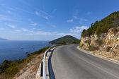 Mountain Road - Elba Island. — Stock Photo