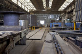 Shipbuilding hall. — Stock Photo